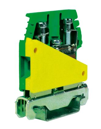 Earth terminal block with UL94V-0 polyamide insulating body